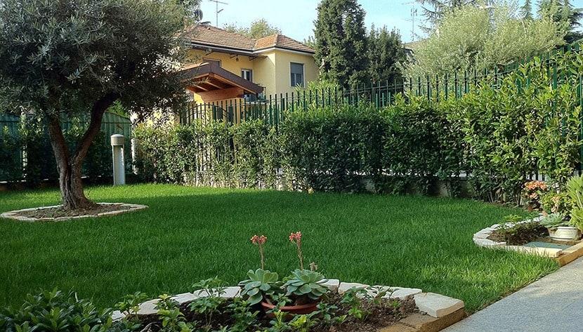 Realizzazione giardini 05 pulisprintsrl for Bordure aiuole in tufo