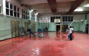 Ripristino pavimentazione in Linoleum