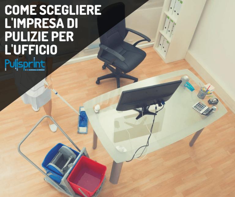 Impresa di pulizie per il tuo ufficio