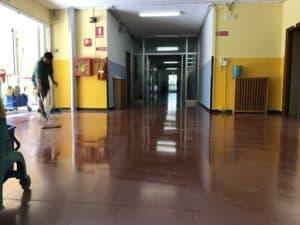 Trattamento Pavimento Scuola