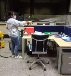 Sanificazione Plexiglass